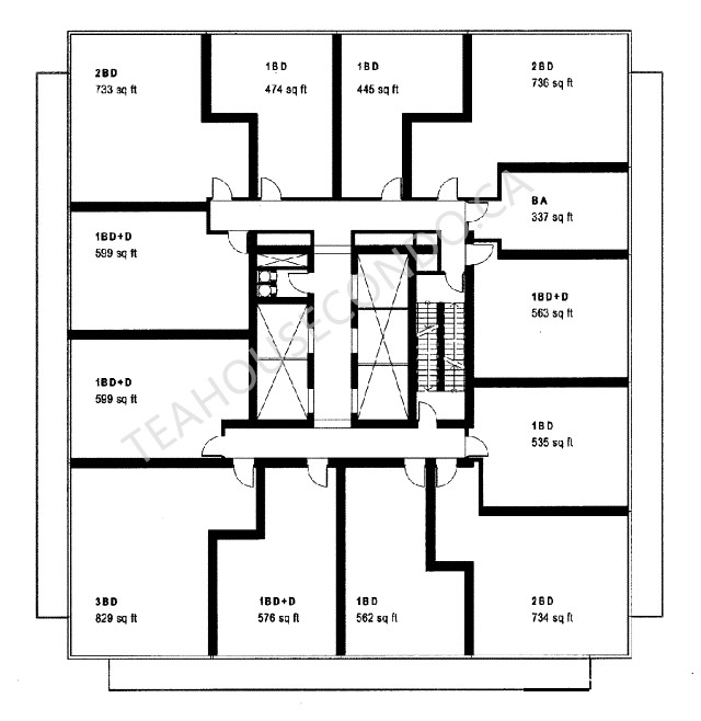 One bedroom cabin plans with sleep loft joy studio for Sleeping cabin plans